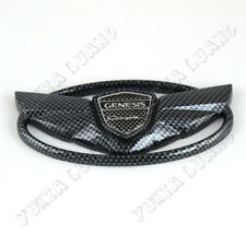 Hyundai GENESIS COUPE 2010-15 Car Front Grille Emblem Carbon Fiber Styling Wing