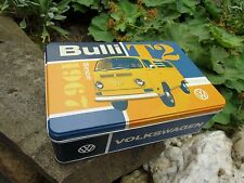 VW VOLKSWAGEN Bulli Bus T2 Tin Storage /Lunch Box  - Made in Germany