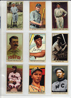 LOT OF 9 TOBACCO ROAD CARDS, COBB MAYS MUSIAL PAIGE SHOELESS JOE & MORE