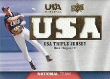 2009 Upper Deck USA Baseball National Team Jersey #TJNT-RH Rick Hague