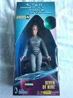"Seven of Nine Star Trek Voyager 9"" Playmates action figure 1998 Jeri Ryan"