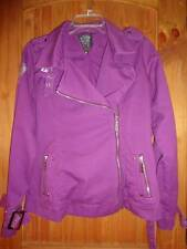 Blac Label Pink Jacket Purple Born Sinner Cotton Coat