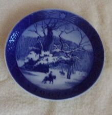 "Royal Copenhagen Denmark Christmas Plate ""Royal Oak"" 1967 Ex. Condition"