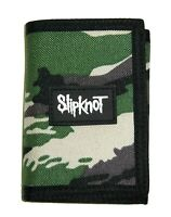 Slipknot Camo Camouflage Tri Fold Nylon Wallet New Official Band Merch