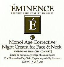 Eminence Monoi Age Corrective Night Cream For Face & Neck 60ml(2oz) Brand New