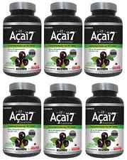 6 bottles of 100:1 Acai berry ( 100x 200mg ) 200 capsules 100 times antioxidant