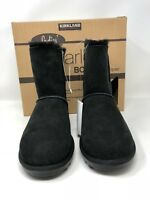 Kirkland Signature Women's Shearling Lining Winter Boots Black, Pick A Size