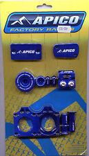 Apico Bling Kit Suzuki RMZ 250 07-15 RMZ 450 05-15 Anodised Blue (1) RMZ450