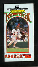 Boston Red Sox--Jim Rice--1985 Pocket Schedule--NESN