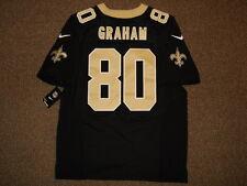 Jimmy Graham New Orleans Saints Black Nike Elite Authentic Jersey sz 48 Mens Tag