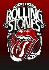 Rolling stones (2) metal wall sign