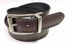 LEVI'S NEW Men's Leather Reversible Belt Brown Black S 30-32