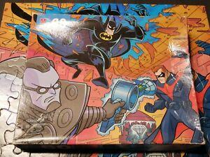 Vintage 1997 Batman & Robin Jigsaw Puzzle Complete set Milton Bradley 4774-1