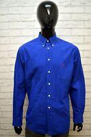Camicia RALPH LAUREN YARMOUTH Collo 16 1/2-34 Maglia Manica Lunga Cotone Uomo