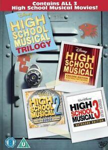 High School Musical 1-3 DVD NEW