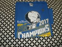 NEW! NBA~CHAMPIONS~GOLDEN STATE WARRIORS TSHIRT, 2017 ~ADULT SIZE MEDIUM T6850