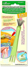 Clover Kralle für Trockenfilznadel mit Reinigungsbürste