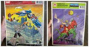 Masters Of The Universe 1984 Frame Tray Puzzle He-Man And Go Bots Puzzle 1985