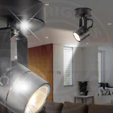 MIA Decken Modern/ Schwarz/ Leuchte Aufbauspot Aufbaustrahler Deckenstrahler Lad