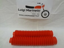 Kit soffietti forcella bellows fork oil moto std rosso red d.38-40mm ARI 9943R