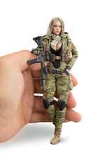 "1/12 VERYCOOL Treasure Series MC Camouflage Villa Female 6"" Action Figure"