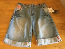 Girl's Denim/Jean Shorts by Dognose With Adjustable Waist Age 10-11 Years BNWT