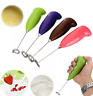 WHISK BEATER MINI BATTERY HANDY POWERED DRINK FOAMER COFFEE MILK STIRRER  MIXER