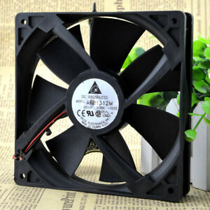 For Delta 13525 AFB1312M 13.5cm 135mm DC 12V 0.38A 2Wie Case axial Cooling Fan