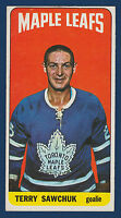 TERRY SAWCHUK 64-65 TOPPS TALLBOYS 1964-65 NO 6 EXMINT  10705