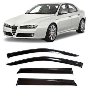 For Alfa Romeo 159 Sd 2005-2011 Window Visors Side Rain Guard Vent Deflectors