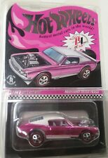2017 Hot Wheels 31st Convention LA Mustang Boss Hoss RLC Pink Party Car