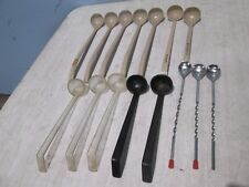"""Lot Of (12) """"Carlisle/Cambro&#03 4; H.D. Commercial Assorted Ladles & S.S. Stir Spoons"""