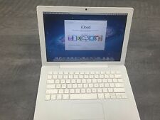 "Apple A1181 MacBook 13.3"" White Laptop Core 2 Duo, 2GB Ram, WiFi, WebCam, NEW AC"