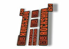 Rock Shox 2017 Super Deluxe RC3 Rear Shock MTB Decal Sticker Adhesive Camo