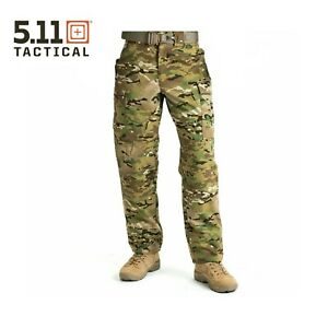 5.11 Tactical Multicam TDU Pants Trousers - Waist Small - Regular Length