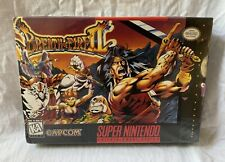 Breath of Fire II: (Super Nintendo, SNES) Game w/ Hang Tab NEW FACTORY SEALED