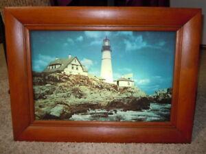 Helmscene lighted picture Lighthouse