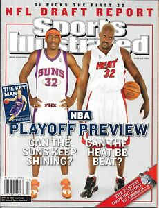Sports Illustrated 2005 AMARE STOUDEMIRE Phoenix SHAQ Lakers NEWSSTAND Mint NIB