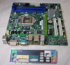 54KM3 Dell Vostro 430 430a 430s Socket 1156 Motherboard with I/O Plate 054KM3
