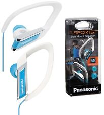 Panasonic RP-HS200E-A BLUE Water Resistant Sport Headphones Earphones /Brand New