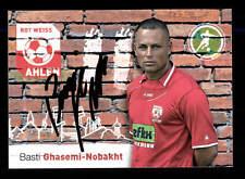 Basti ghasemi nobakht autografiada mapa rojo Weiss Ahlen 2010-11 original + a 147336