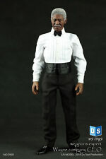 Morgan Freeman Box_Set 1/6 Male Action Figure In Black Suits DSTOYS DS01 Doll