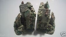 TCR Bird House Heavy Bookends Resin Butterfly Cottage Book Ends @ cLOSeT