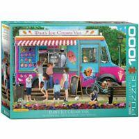 Eurographics Puzzle 1000 Piece Jigsaw Dans Ice Crean Van P.Normand   EG60005519