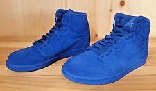 JORDAN RETRO 1 HIGH BLUE SUEDE TEAM ROYAL BASKETBALL SZ 7.5-13 332550-404
