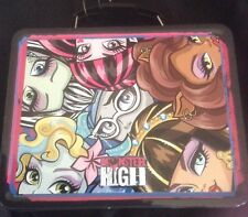 Monster High Full Size Large Metal Lunch Box