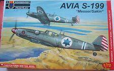 Kpm (AZ Models) 1/72 KPM0006 Avia S-199 'Messer/Sakin'