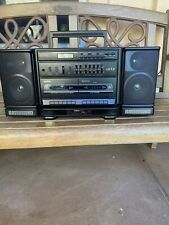 Sanyo C777 Concert Series Boombox Stereo Ghetto Blaster Excellent Condition