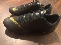 Nike Mercurial Vapor Pro FG Men's Soccer Cleats Size 6.5 Black Gold