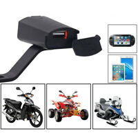 Waterproof Motorcycle 12V USB Ports Phone GPS Camera Charger Cable Adapter